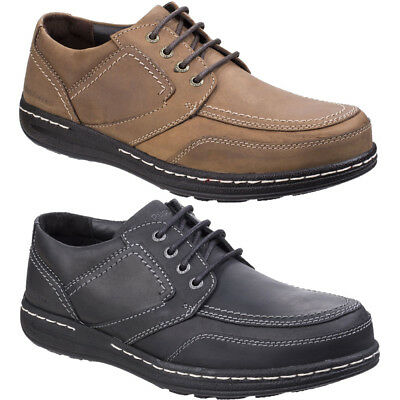Hush Puppies Mens Volley Victory Formal Leather Lace up Oxford Shoes