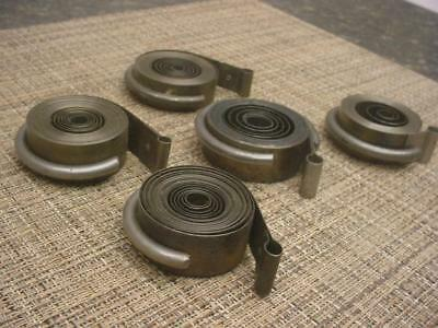 Large Lot Various Vintage Vigor Superior Clock MainSprings Repair work E937a