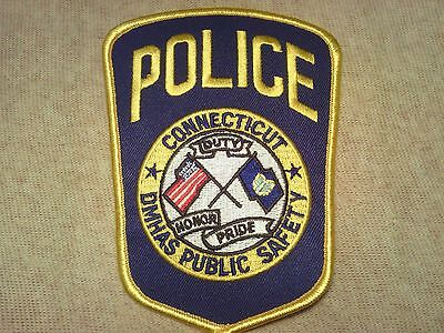 CT Dept. of Mental Health & Additction Services Connecticut Police Patch