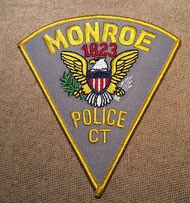 CT Monroe Connecticut Police Patch