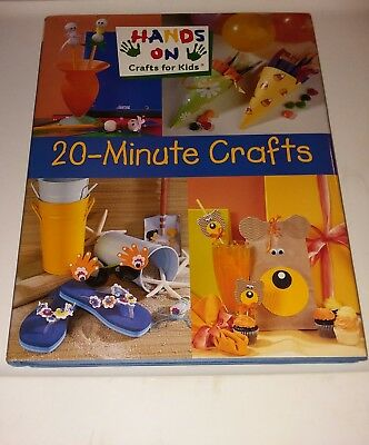 Hands On Crafts For Kids: 20-Minute Crafts (2001, Hardcover)