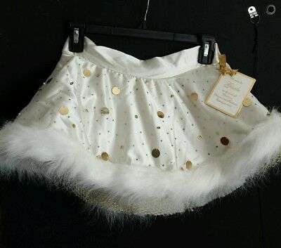 Womens Victoria's Secret Sexy Little Things skirt 2006 Gisele nwt fur lingerie
