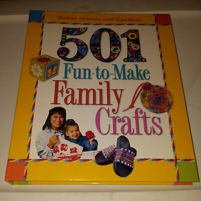 501 Fun-to-Make Family Crafts by Carol Field Dahlstrom (2001, Hardcover)