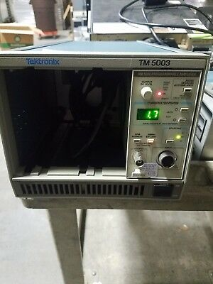 Tektronix TM5003 3-Slot Power Mainframe