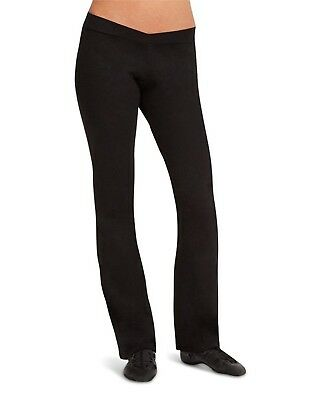 CK1036C Capezio Girls Foldover Waistband Stirrup Pants