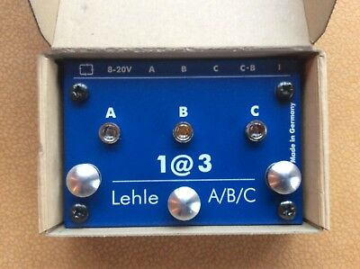 Lehle 1@3 SGoS Switcher Looper