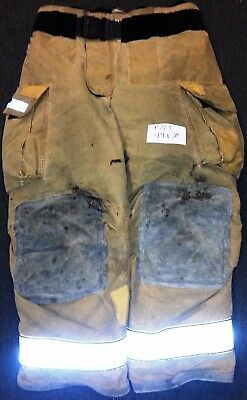 44x30 Pants Firefighter Turnout Bunker Fire Gear Globe Gxtreme P723