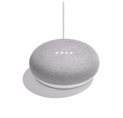 Google Home Mini Smart Assistant Speaker - Chalk Brand New and Sealed
