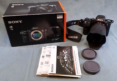 Sony Alpha 7II 24.3MP Digital Mirrorless SLR Camera w/ 28-70mm Lens a 7 ii kit