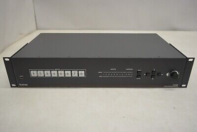 Extron IN1608 8A 8-Input HDCP Scaling Presentation Switcher w/ Power Amplifier