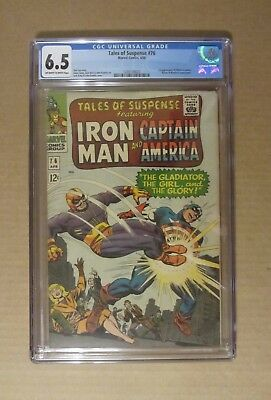 Tales of Suspense #63 (1965) CGC 4.0...1st Silver Age origin of Capt. America