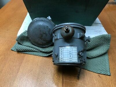 Vintage US NAVY Ship No.5 Compass C G Comm. Ltd.  Elkhart, Indiana WWII