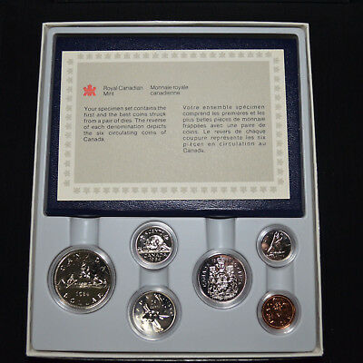 1984 Canada Royal Canadian Mint Specimen Coin Set