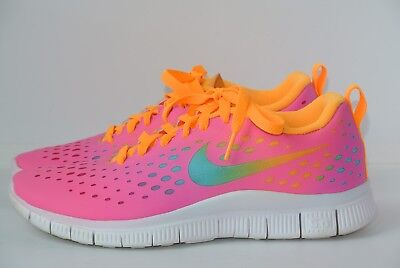 100% authentic 02e01 b9d3f Nike Free Express Girls Youth 6.5   Womens 8 M 641866 600 Running Athletic  Shoes