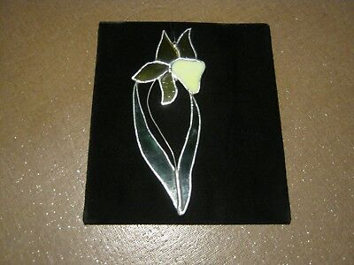 Stained Glass Flower Hanging Window Ornament