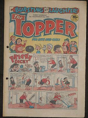 The Topper Comic 3rd March 1984  (Issue 1622)