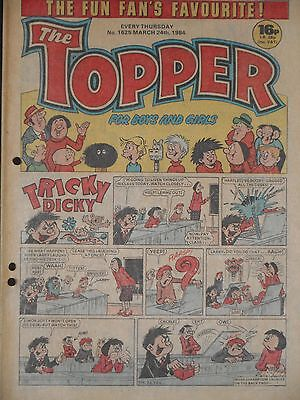 The Topper Comic 24th March 1984  (Issue 1625)