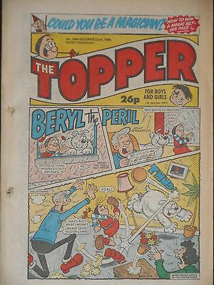 The Topper Comic 22nd October 1988 (Issue 1864)