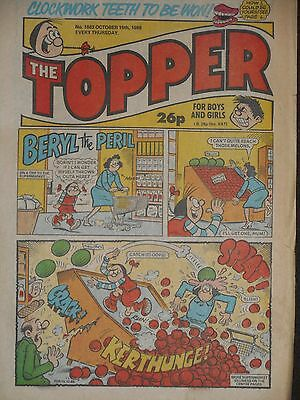 The Topper Comic 15th October 1988 (Issue 1863)