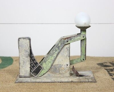 Uncommon Vintage Chicken EGG SCALE Old Poultry Farm Tool Country Old Paint