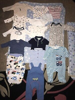 Baby Boy Clothes Bundle 0-3 Months Immaculate Condition