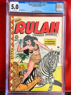 RULAH JUNGLE GODDESS 18 CGC 5.0 CLASSIC KAMEN GGA Cover!