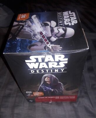 Star Wars Destiny Spirit of Rebellion Booster Box Factory Sealed FREE SHIPPING