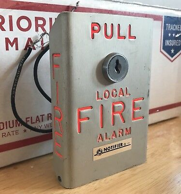Notifier BNG-1 Local Fire Alarm Pull Station - *Vintage & Rare*