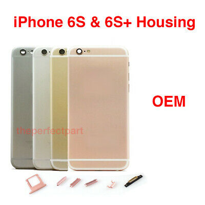 OEM Replacement Housing Back Battery Cover Mid Frame Assembly iPhone 6S 6S Plus