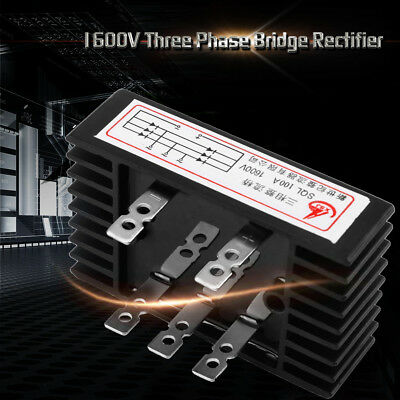 100A 1600V SQL100A 3 Phase Diode Bridge Rectifier AC to DC For Wind Generator wt