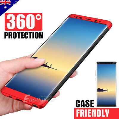 Samsung Galaxy S8 S8+ Note 8 360 Full Body Ultra Thin Shockproof Hard Case Cover