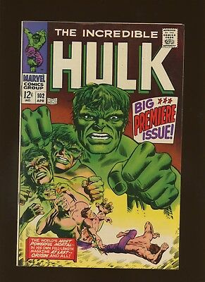 Incredible Hulk 102 FN 6.0 * 1 Book Lot * Hulk Takes over Tales to Astonish!