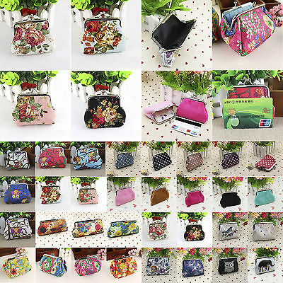 Women Mini Wallet Coin Purse Pouch Change Bag Small Clutch Card Key Holder Gifts