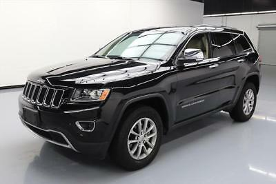 2015 Jeep Grand Cherokee Limited Sport Utility 4-Door 2015 JEEP GRAND CHEROKEE LTD LEATHER NAV REAR CAM 38K #780392 Texas Direct Auto