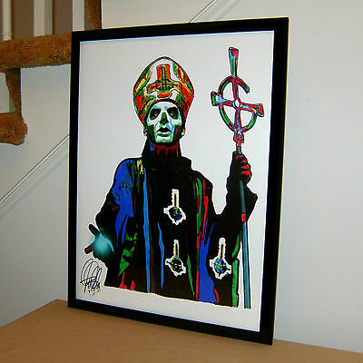 Papa Emeritus III, Ghost, Vocals, Heavy Metal, Doom Metal, 18x24 POSTER w/COA