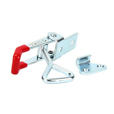 Adjustable Quick Toggle Clamp Clip 100Kg (220 Lbs) Holding Metal Latch Catch UK