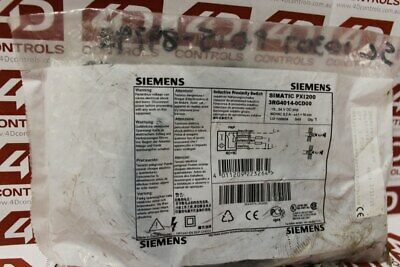 Siemens 3RG4 014-0CD00 Inductive Proximity Switch - New Surplus Sealed