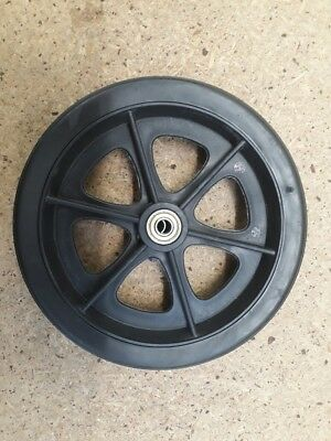 "Wheelchair Castor Wheel & Bearing, 8"" x 1"", FREE FREIGHT"