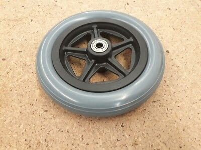 "Wheelchair Castor Wheel & Bearing, 7"" x 1"", FREE FREIGHT"