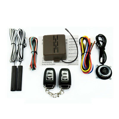 Universal Smart Engine Push Button for Ignition Engine Starter Switch Working