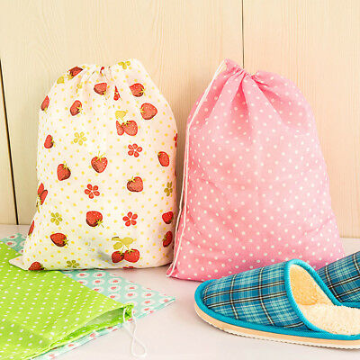 5 Patterns Children Adult Drawstring Bags Shoes Storage Safety Harmless F8RH
