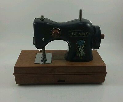 American Greetings Holly Hobbie Toy Sewing Machine 1975 Hong Kong
