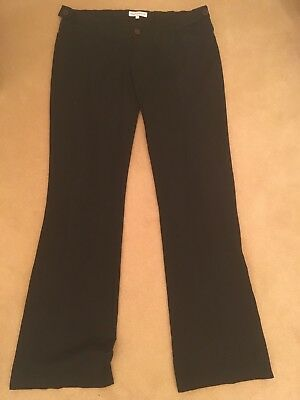 Seraphine Black Work Maternity Trousers Size 4