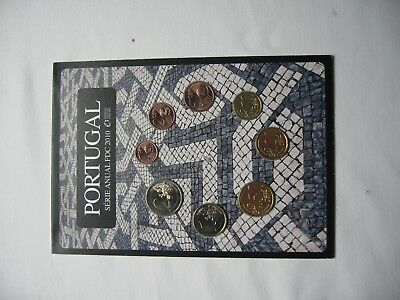 1 Satz Portugal 1 Cent - 2 €  Serie ANUAL FDC 2010