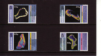 British Indian Ocean Territory 2000 Millennium 4v MNH