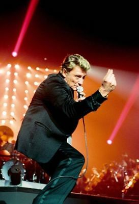 photo 10*15cm 4*6 inch JOHNNY HALLYDAY