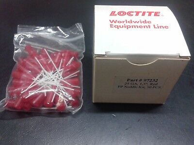 LOCTITE 97232 FLEXIBLE DISPENSE NEEDLE RED 25 Gauge (50 pcs/bag) IDH142643