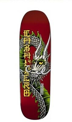 "Powell Peralta Caballero Ban This Skateboard Deck PP Reissue 9.265"" Maroon"