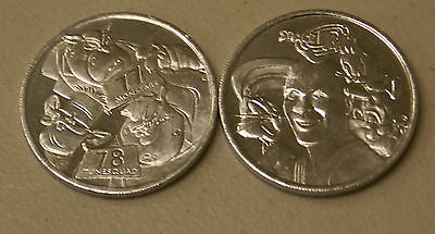 Space Jam Movie Promo Coin - Michael Jordan / Monsters 77 / Tune Squad 78