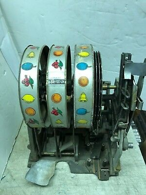 Mills Partial Slot Machine Mech Mechanism As Found For Parts Or Repair 10 Cent ?